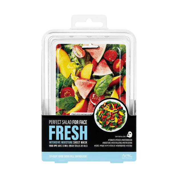 Product Detail - NATURE RECIPE LAB Perfect Salad For Face Fresh Intensive Moisture Mask 5 Sheets - image 0