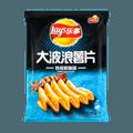 百事LAY'S乐事 大波浪薯片 铁板鱿鱼味 袋装 70g