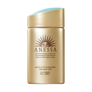 ANESSA Perfect UV Sunscreen Skincare Milk Gold Normal Skin SPF50+ PA++++ 60ml @Cosme Award No.1