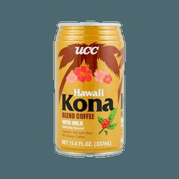 Hawaii Kona Blend Coffee with Milk 337ml