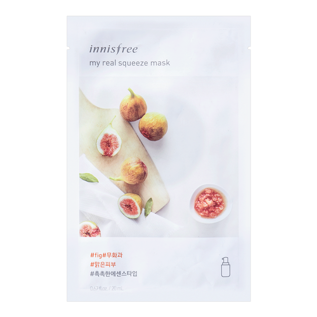 Product Detail - INNISFREE My real squeeze mask fig 1sheet - image 0