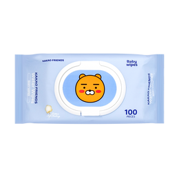 Korea KAKAO Friends Water Cleaning Baby Wipes 100pcs