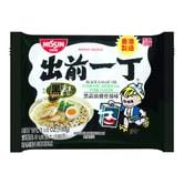 日本NISSIN日清 出前一丁 即食汤面 黑蒜油猪骨汤味 100g