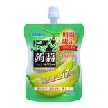 日本ORIHIRO 低卡纤体蒟蒻果冻 哈密瓜味 130g 期间限定