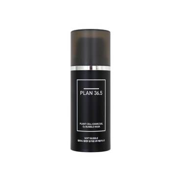PLAN36.5 Plant Cell Charcoal O2 Bubble Mask 100ml
