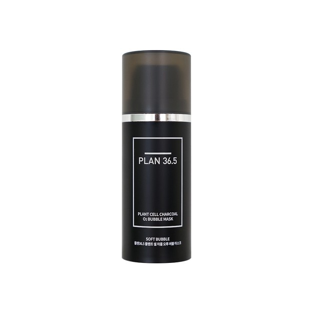 Product Detail - PLAN36.5 Plant Cell Charcoal O2 Bubble Mask 100ml - image 0