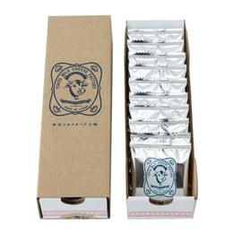 【日本直邮】 东京牛奶芝士工厂 海盐卡芒贝尔干酪饼干 10枚装