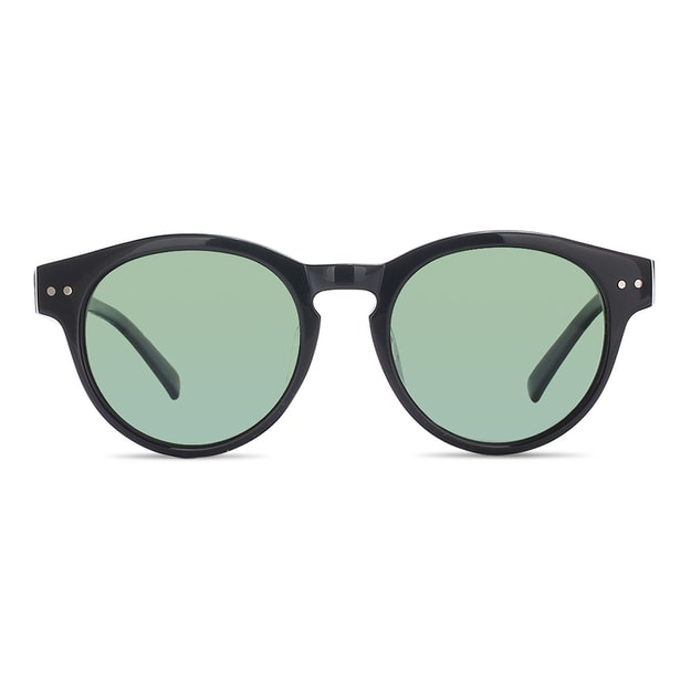 DUALENS Polarized Aviators: Black (DL55073 C1)