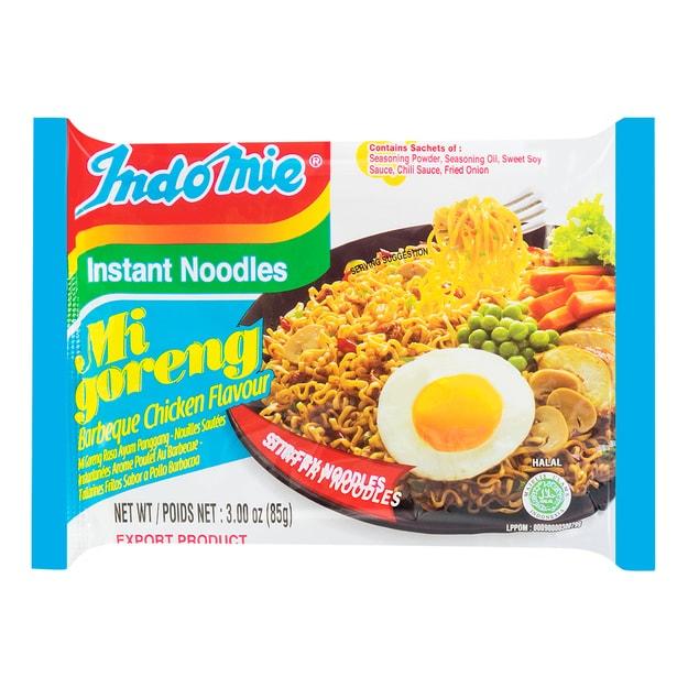 商品详情 - 印尼 世界十大最好吃泡面 BBQ 烤肉味 85g - image  0