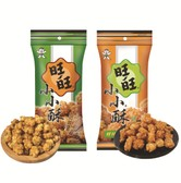 WANT WANT Fried Cracker Balls Spring Onion & Chicken Spicy 6 packs