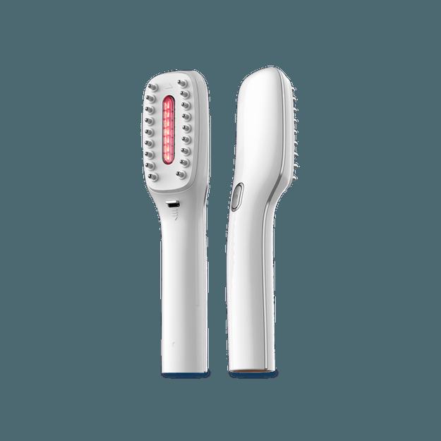 商品详情 - 【香港DHL 5-7日达】网易智造 在家享受护发SPA 头皮护理健发梳 白色 - image  0