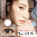 虞书欣同款 FOMOMY -3.75度美瞳日抛小直径10枚 Cameo Pink豆沙粉色 预定3-5天日本直发