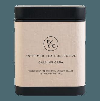 Esteemed Tea Co. Calming Gaba Oolong Stress Relieving Tea 12/ Box 24g