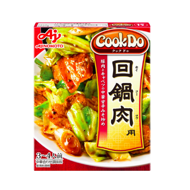 Product Detail - AJINOMOTO COOK DO Stir-fried Boiled Pork Slices Sauce 110g - image 0