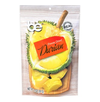 BE Freeze Dried Durian 50g