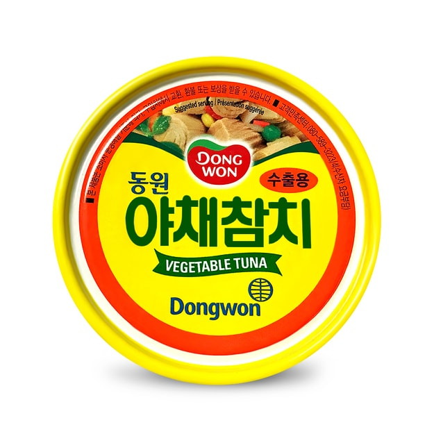 Product Detail - DONGWON Vegetable Canned Tuna 150g - image 0