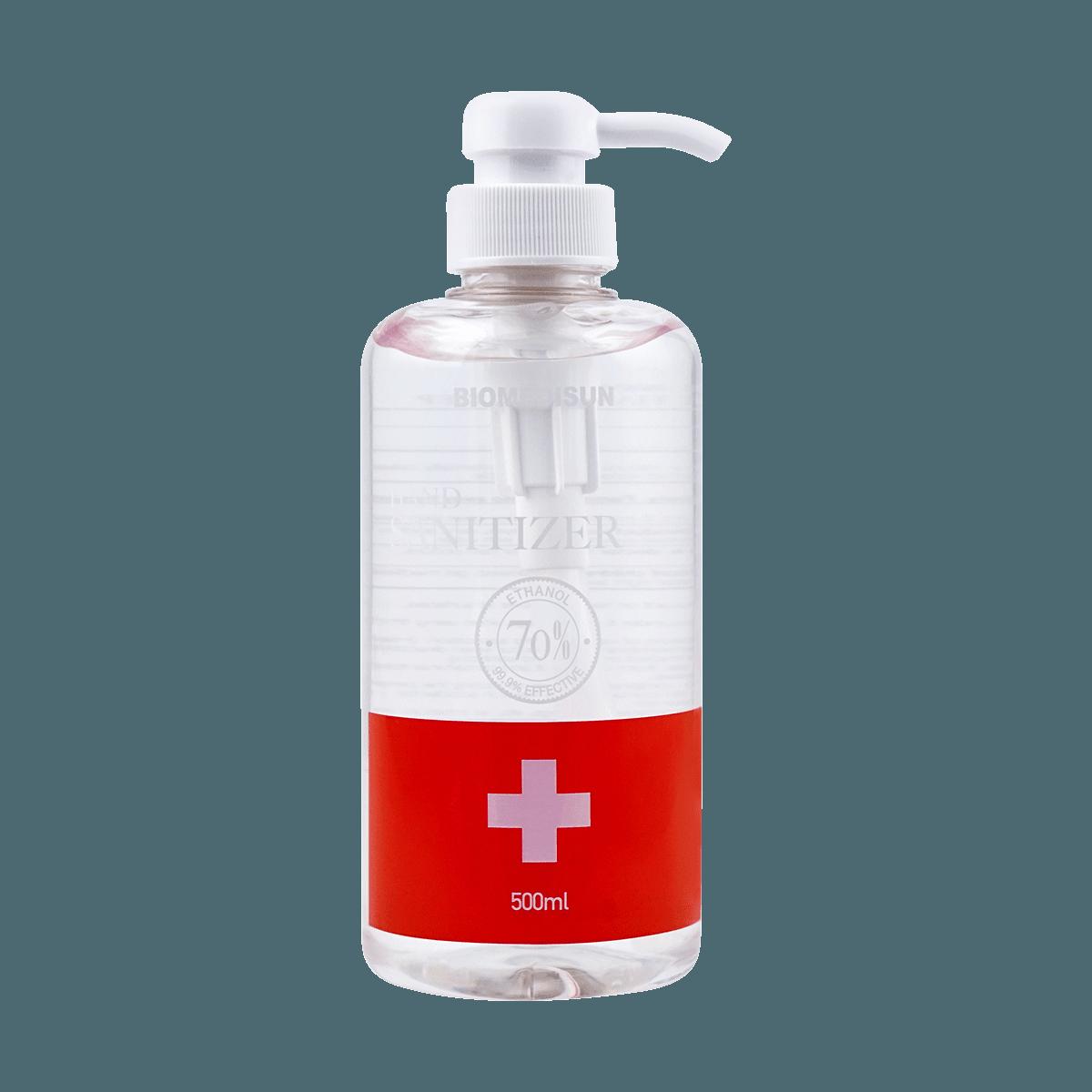 Yamibuy.com:Customer reviews:BIOMEDISUN HAND SANITIZER (70% Alcohol) 500ml