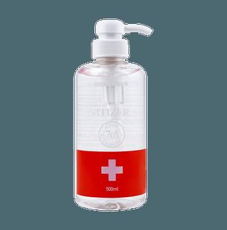 【70%酒精凝胶】韩国BIOMEDISUN 免洗清洁洗手液凝胶 含70%乙醇酒精 500ml