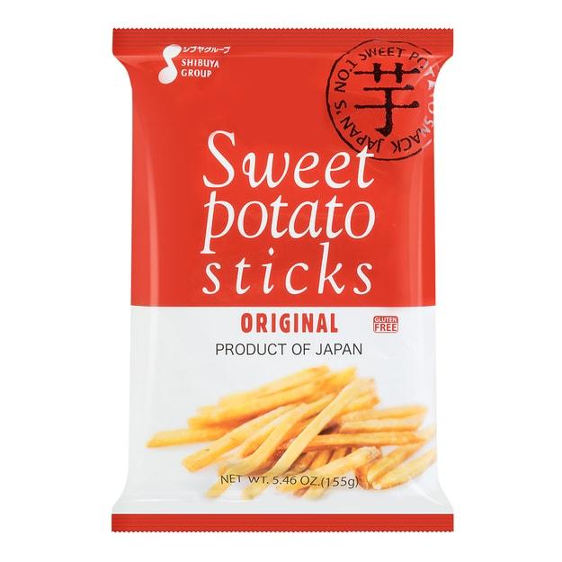 商品详情 - 日本SHIBUYA 香甜休闲马铃薯条 155g 鹿岛产 - image  0