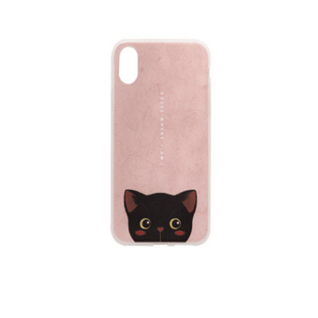 Product Detail - MAOXIN Original Art Illustrations Cute Cat Series Apple Cell Phone Case For IPhoneX  Fanny 1PC - image 0