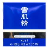 日本KOSE高丝 雪肌精 浓密泡沫洗颜皂 美白保湿去黑头100g #带皂盒