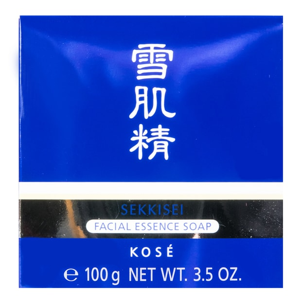 Product Detail - Kose sekkisei facial essence soap with box 100g - image 0