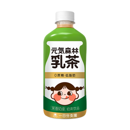 GENKI FOREST Milk Tea Jasmine 450ml