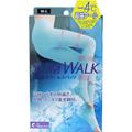 日本 SLIMWALK  强压力长筒凉感美腿纤瘦腿塑形袜 M-L 1pcs