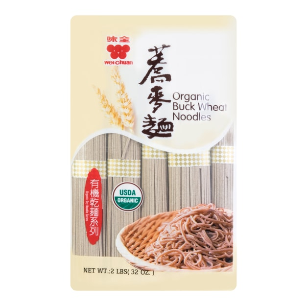 Product Detail - WEI CHUAN Org Buck Wheat Noodles 907g - image 0
