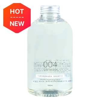 TAMANOHADA Shampoo Naturally Refreshing & Fragrant #004 Gardenia 540ml