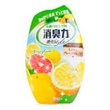 日本ST消臭力 室內用精油芳香剂 清新柚子 400ml