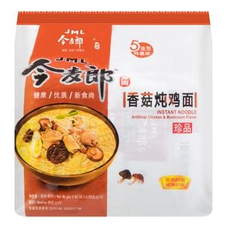 JINMAILANG Mushroom Chicken Flavor Instant Noodle 5packs 545g