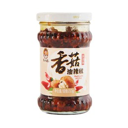 Oil Chili Condiment with Mushroom 210g