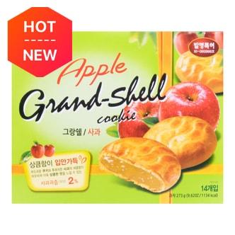CW Korean Rice Cake Apple Flavored Cookie Pie 14pcs 273g