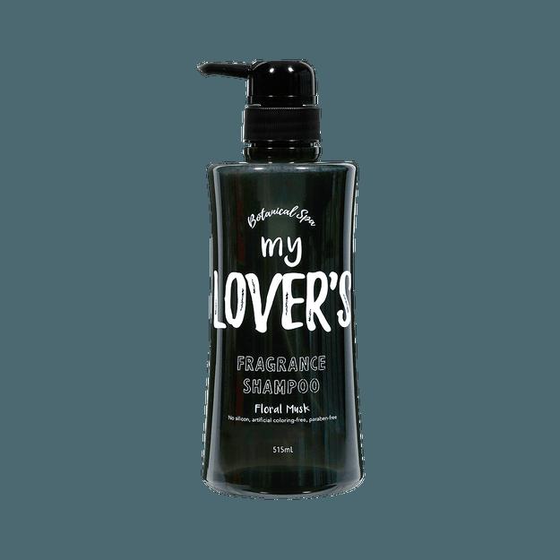 商品详情 - Infinity ||my LOVER\'S 植物香氛洗发水||黑款 花卉麝香香气 清爽型 515 ml - image  0