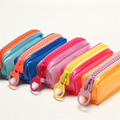 YIZHENG The Translucent candy color  Pencil Case  YZ5228  Pack of 5PCS  Random