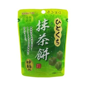 日本SUGIMOTOYA杉本屋 抹茶口味年糕小饼 40g