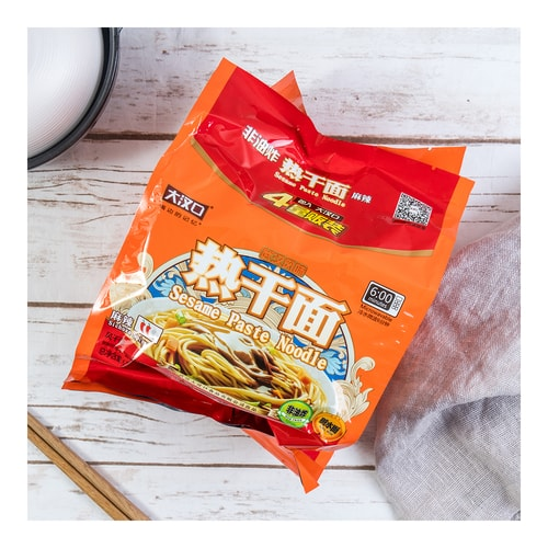 HANKOW Sesame Paste Noodle Sichuan Spicy Flavor 4packs 408g