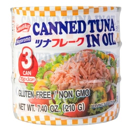 SHIRAKIKU Canned Tuna Flake 210g