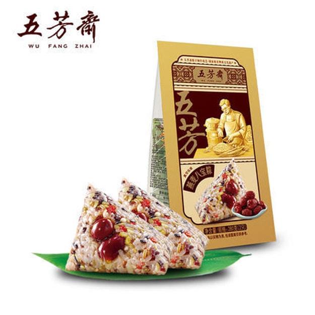 商品详情 - [中国直邮] WUFANGZHAI五芳斋燕麦八宝粽子140克*2只嘉兴特产 - image  0