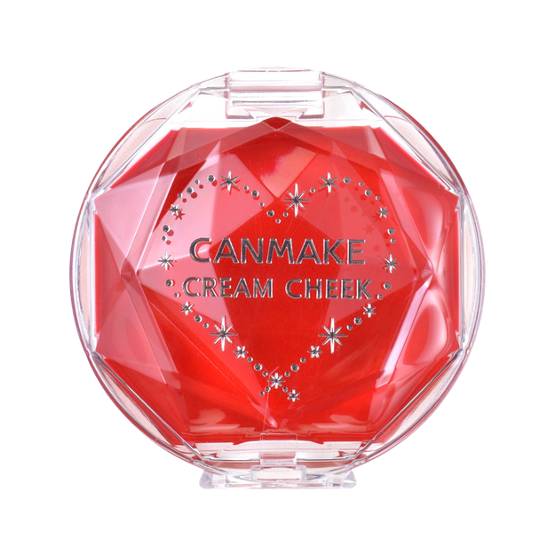 Product Detail - CANMAKE Cream Cheek CL01 Clear Red Heart - image 0