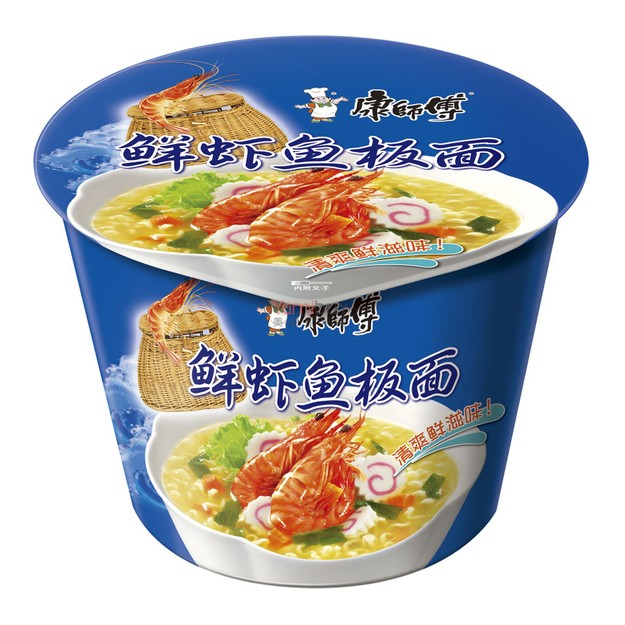 Product Detail - MASTER KONG Artificial Seafood Flavored Instant Noodle 101g - image 0