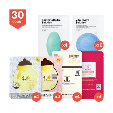 Korean Masks Bestsellers Gift Pack 30Sheets