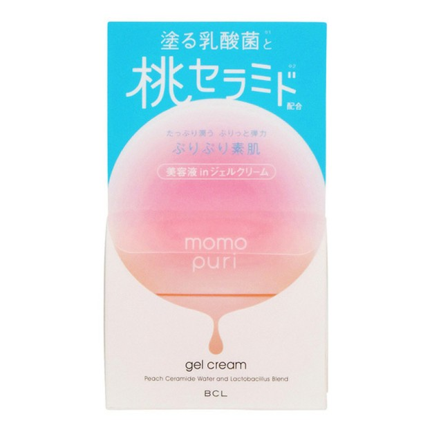Product Detail - BCL MOMO PURI Moist Gel Cream 80g - image  0