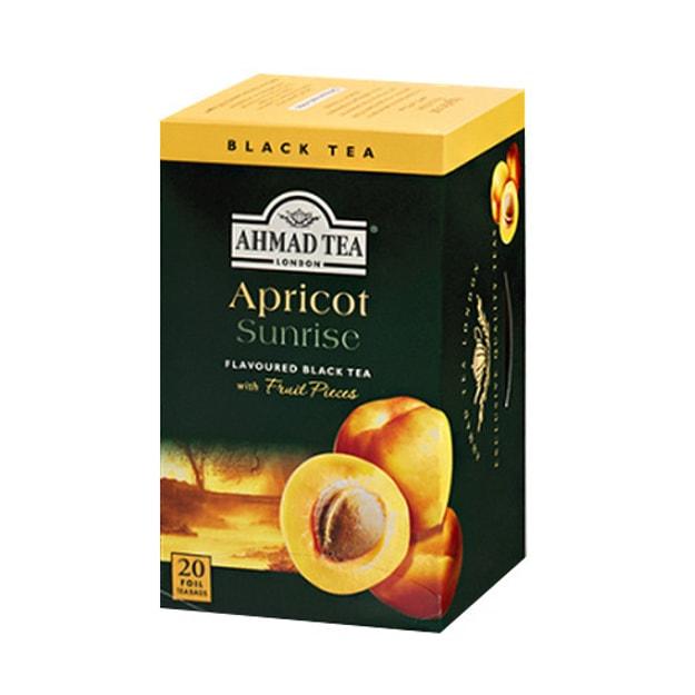 商品详情 - 英国亚曼AHMAD TEA 水果红茶茶包 杏子味 20包入 - image  0