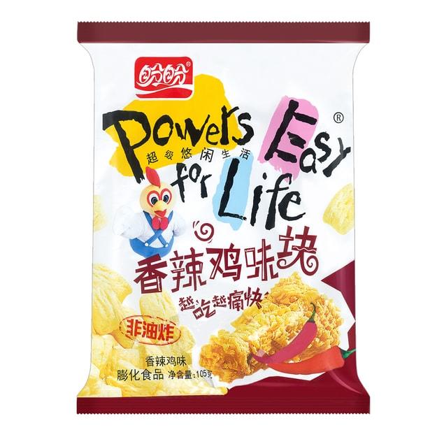 商品详情 - 盼盼 香辣鸡味块 香辣鸡味 105g 非油炸膨化食品 - image  0
