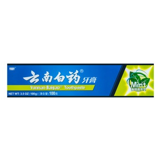 Yunnan Baiyao Toothpaste Mint 100g