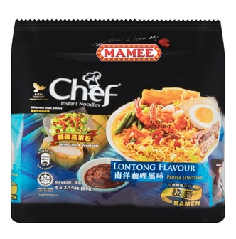 MAMEE CHEF Curry Flavor Instant Noodles 4packs 356g