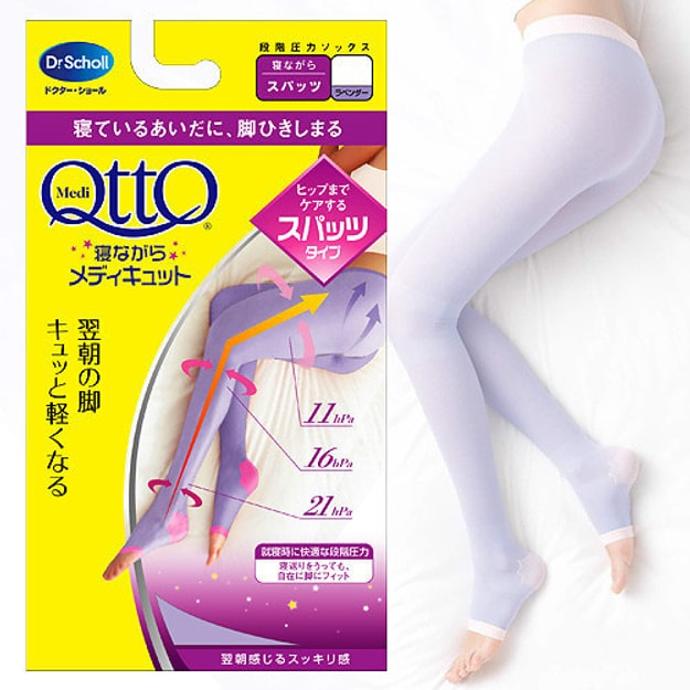 Product Detail - DR. SCHOLL QTTO Overnight Slim Leggings M - image 0