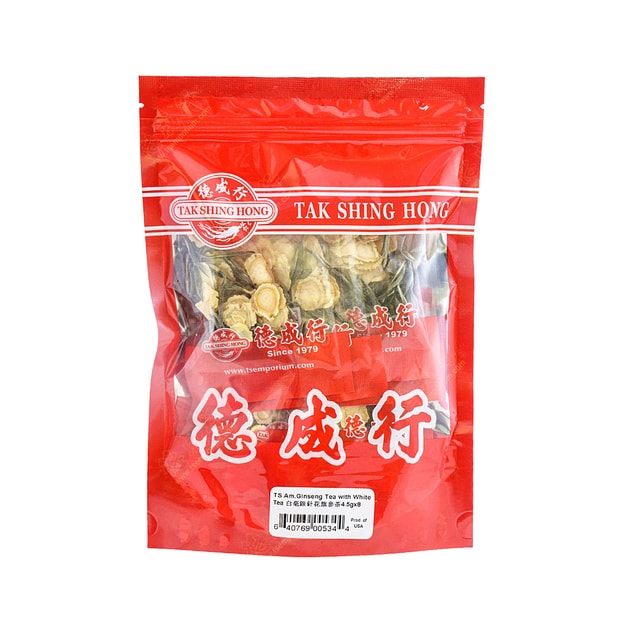 Product Detail - TS Am.Ginseng Tea With Whitetea 4.5gx8 - image 0